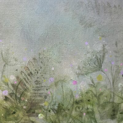spring hope - Native Irish Hedgerow Painting
